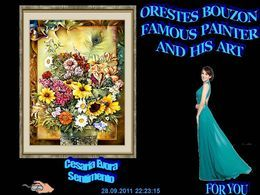 Orestes Bouzon famous painter and his art