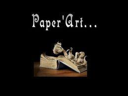Paper art diaporama