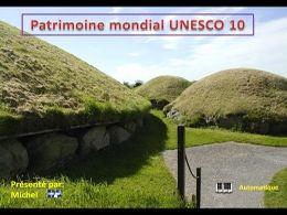 Patrimoine mondial de l'Unesco 10 en pps