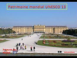 Patrimoine mondial Unesco N°13