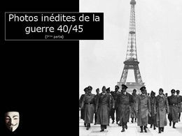 Photos inédites de la guerre 40-45 7