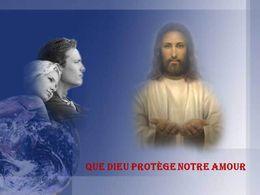 Diaporama Que dieu protège notre amour