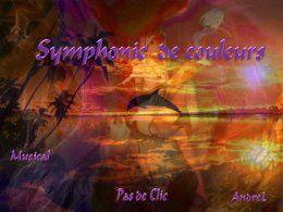 Symphonie de couleurs en pps