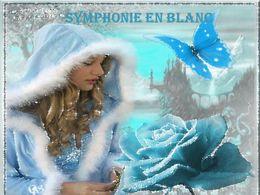 Symphonie en blanc en diaporama