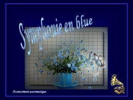 Symphonie en blue