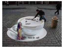 Tasse de café en pps
