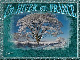 Diaporama Un hiver en France