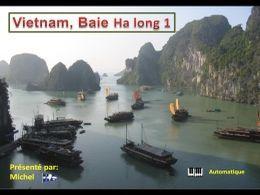 PPS sur la baie d'HaLong au Vietnam