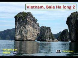 PPS N°2 sur la baie d'Halong au Vietnam