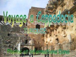 PPS voyage à Cappadocia