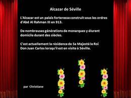 Diaporama Alcazar de Séville