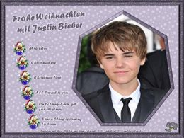 Weihnachten mit Justin Bieber