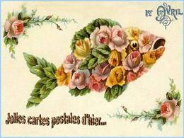 1er avril et les jolies cartes postales d'hier