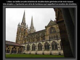 Cathédrale et cloitre de Bayonne