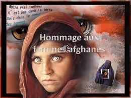Hommage aux femmes afghanes