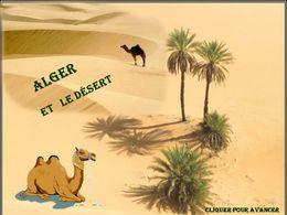 Alger et le désert