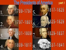America the presidents part I