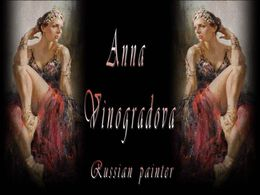 Anna Vinogradova russian painter