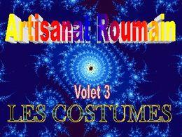 Art roumain 3 costumes