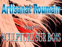 Art roumain 10 sculpture sur bois