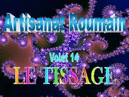 Art roumain 13 tissage