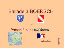 Balade à Boersch