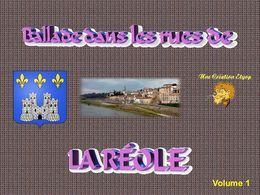 Les rues de La Réole Volume 1