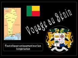 Bénin 1ère partie
