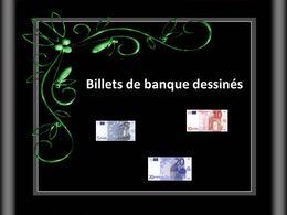 Billets de banque dessinés