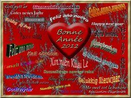 Bonne année 2012 d'Oxyplanete