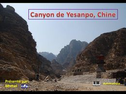 Canyon de Yesanpo Chine