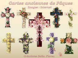Cartes anciennes de Pâques