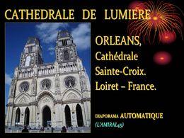 Cathédrale de lumière Orléans
