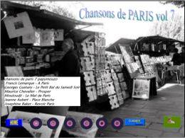 Chansons de Paris 7