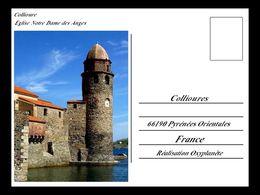 Carte postale de Collioure