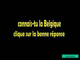 Connais tu la Belgique ?
