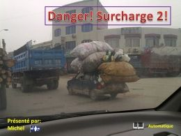 Danger surcharge 2