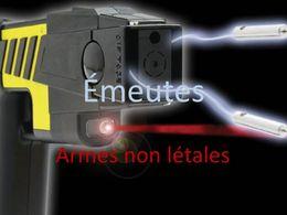 Emeutes: Armes non létales