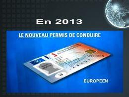 2013 le nouveau permis de conduire