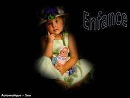 Diaporama Enfance