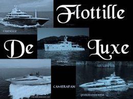 Flottille de luxe