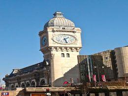 Gare de Lyon à la Pitié Salpêtrière