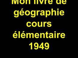 Diaporama Géographie en image 1949