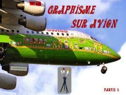 Graphisme sur avion N°3
