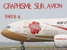 Graphisme sur avion 06