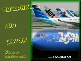 Graphisme sur avion 09