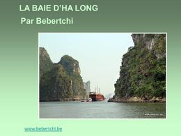 La Baie d'Ha Long - Vietnam
