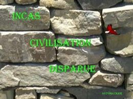 Incas: Civilisation disparue