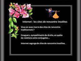 Internet les sites de rencontre insolites