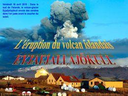 Islande éruption volcanique d'avril 2010